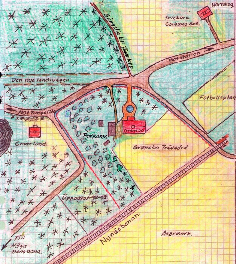 Erlands karta