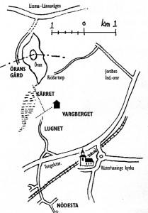 Vargbergetkarta