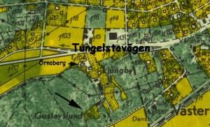 Gustafslund karta