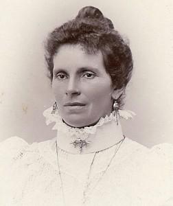 Fanny Mellqvists mor Anna Sofia f.Pettersson