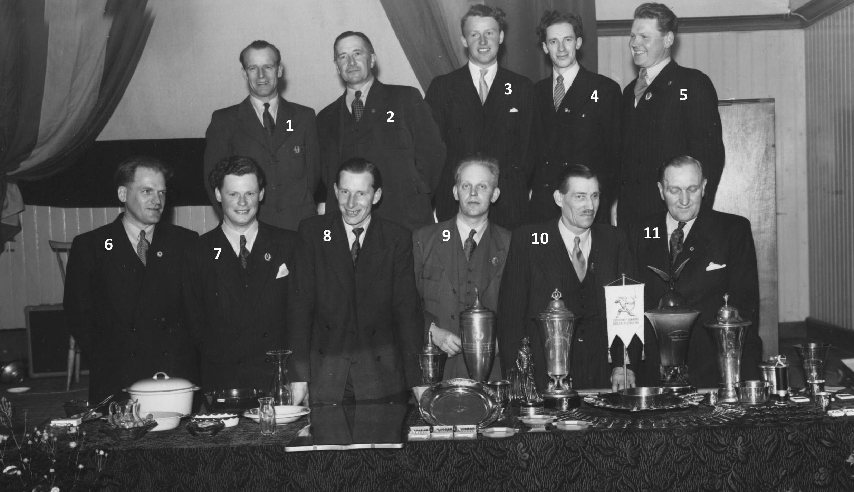 Skyttegillet Styrelse 1949