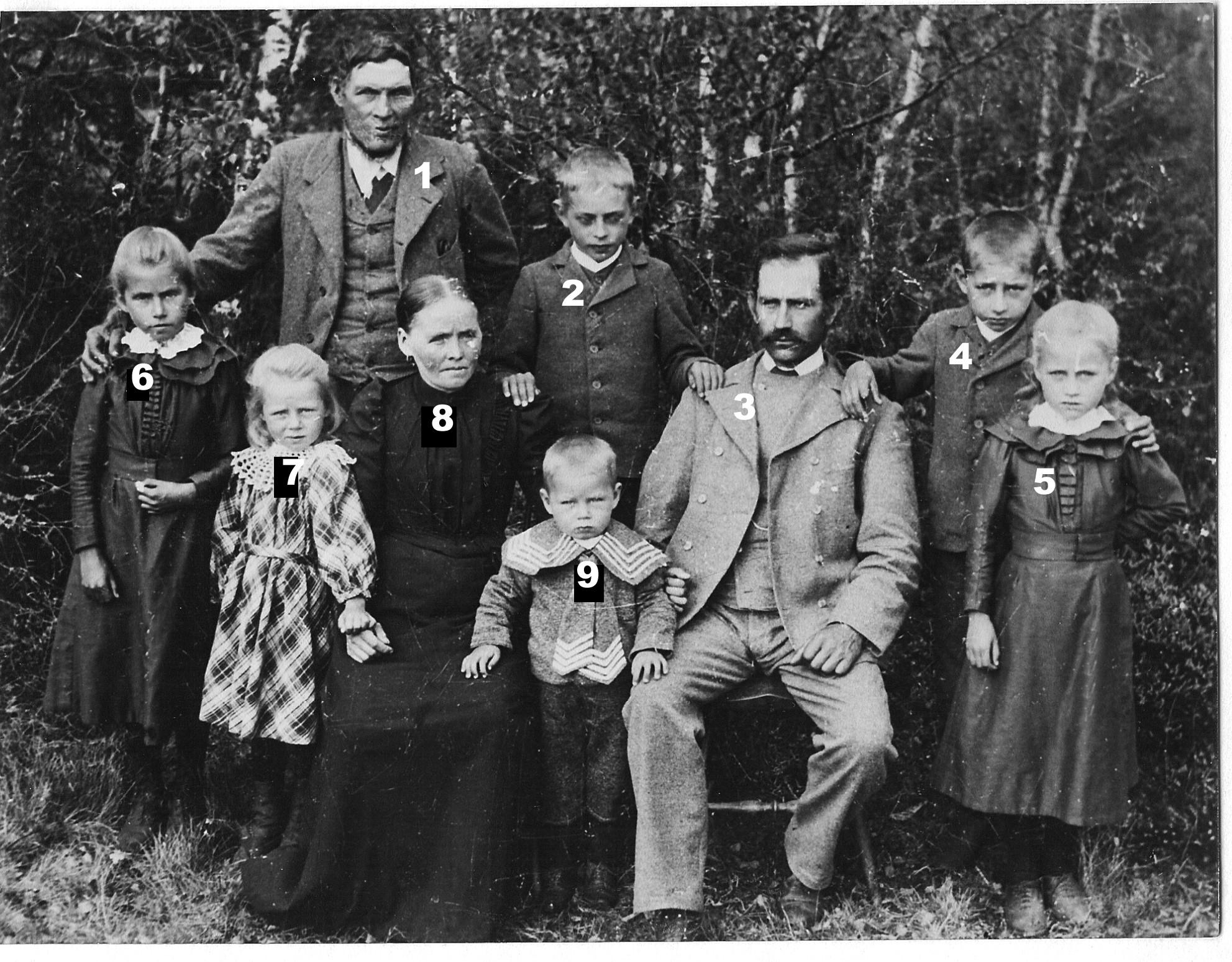 Arvid Nilssons familj