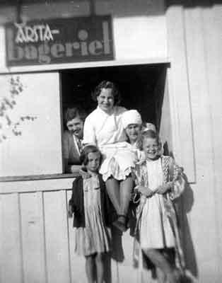 Bageriet 1935 foto Maj Tärnholm