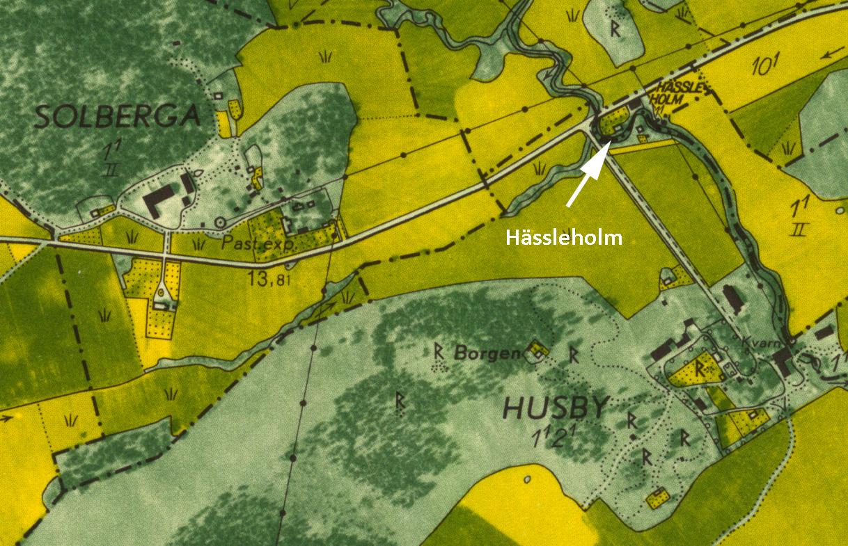 Karta Hässleholm