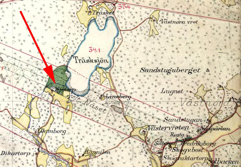 Sjötorp karta