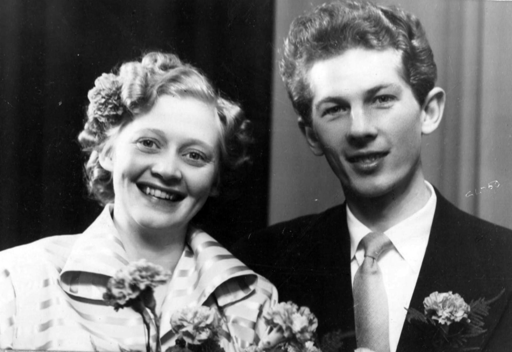 Bröllopp 1950