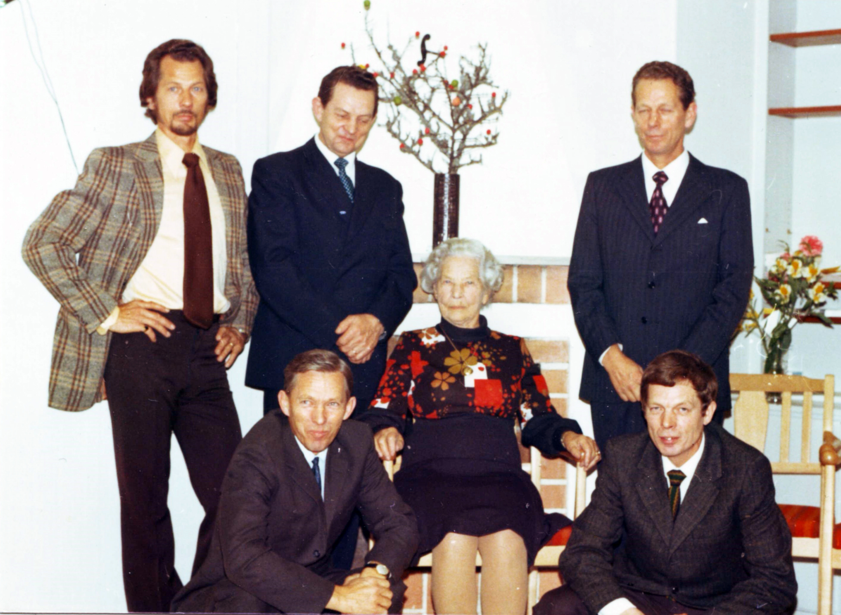 Nisse,Gösta,Åke Folke,Bengt Amanda 1973